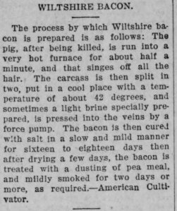 From Cook County Herald, Friday, 29 Nov 1907.