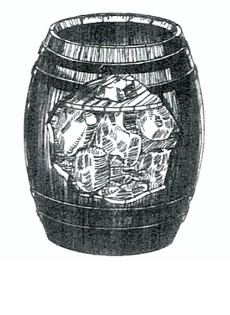 A keg of pork