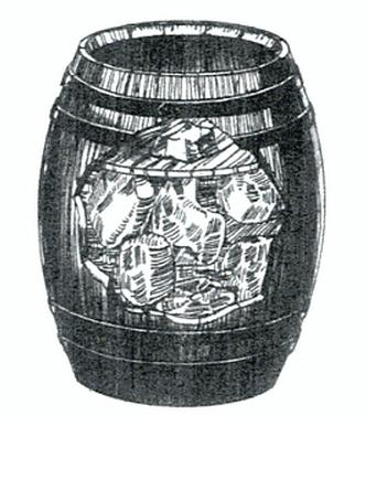 A keg of pork
