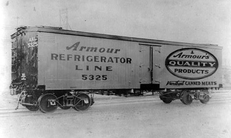 Armour refrigeration car