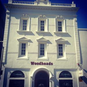 The current Cape Town offices of Woodheads, founded in 1867 by John Woodhead.