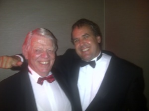 Jeppe and Eben at the Meat Excellence awards in London. 3/6/2012