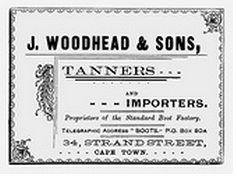 A Woodheads advert 1897.