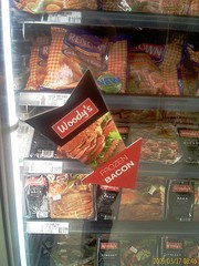 Frozen-bacon. A dismal failure.