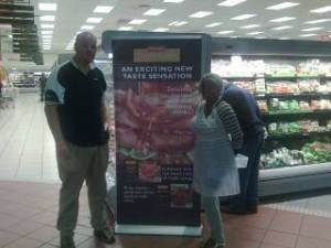 Ehrardt Meyer in Bloemfontein at a Shoprite show.