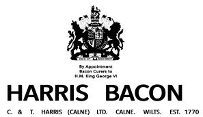 Harris bacon since 1770 Final