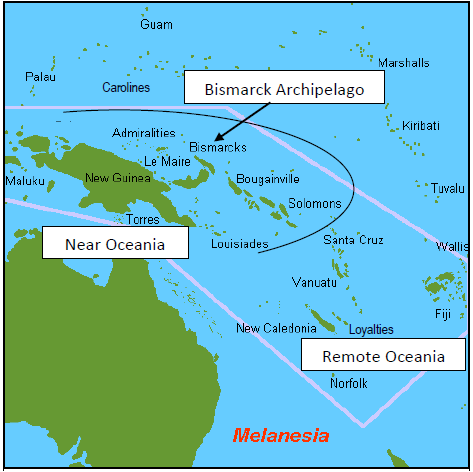 Near and Remote Oceania