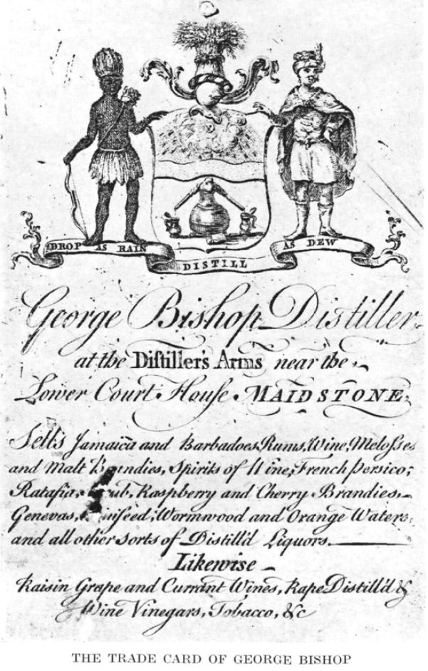 George Bisphop, Trade Card