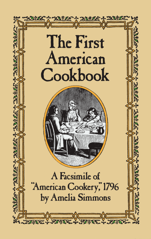 first american cookbook