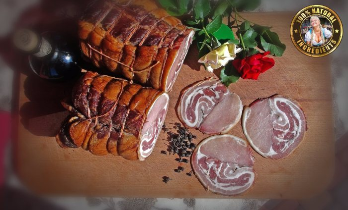 AYRSHIRE MIDDLE BACON from Ukrainian pigs2