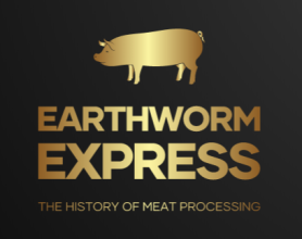 earthworm Express Logo Gold